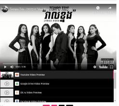 Sprite Premium Blogger Video Template Playlist